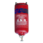 FireShield 2Kg Automatic Dry Powder Fire Extinguisher