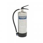 FireShield 6Kg Stainless Steel Dry Powder Fire Extinguisher