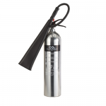 FireShield 5Kg Polished Co2 Fire Extinguisher