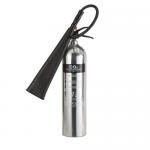 FireShield 5Kg Polished Co2 Fire Extinguisher