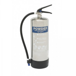 FireShield 9Kg Stainless Steel Dry Powder Fire Extinguisher