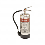 FireShield 6 Litre Stainless Steel Water Fire Extinguisher
