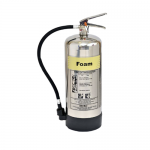 FireShield 9 Litre Stainless Steel AFFF Foam Fire Extinguisher