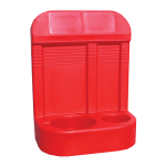New Design Red Fire Extinguisher Stand (Double)