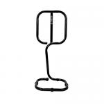 Black Tubular Fire Extinguisher Stand (Single)