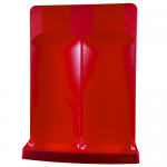 Red Commander Fire Extinguisher Stand (Double)