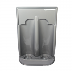 Grey Plastic Fire Extinguisher Stand (Single)