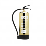 Contempo Polished Gold 6Ltr AFFF Foam Fire Extinguisher