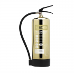 Contempo Polished Gold 6Ltr Multichem Fire Extinguisher