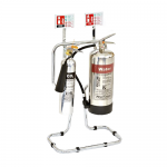 Polished Aluminium Water & Co2 Fire Safety Bundle