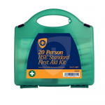 20 Person (90811) Workplace & Statutory HSE Compliant First Aid Kit In Eclipse Case (Blue Dot)
