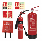 Small Hair Salon / Shop Fire Safety Bundle
