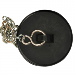 Rubber Blank Plug And Chain