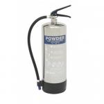 Firechief Elite Polished 6Kg ABC Dry Powder Fire Extinguisher