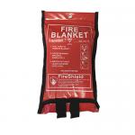 Soft Case 1.0m x 1.0m  Fire Blanket (British Standard)