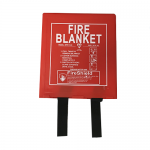 Hard Case 1.0m x 1.0m  Fire Blanket (British Standard)