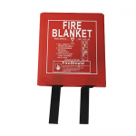 Hard Case 1.2m x 1.2m  Fire Blanket (British Standard)