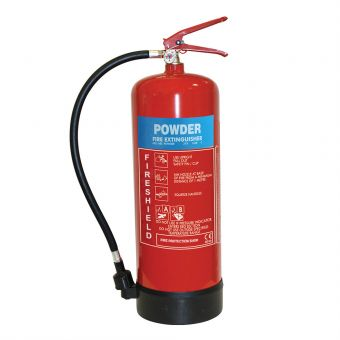 FireShield 9Kg ABC Dry Powder Fire Extinguisher
